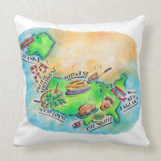 Foods of the USA Pillow