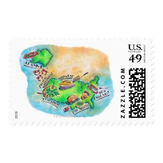 Foods of the USA Stamp
