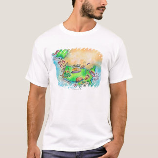 Foods of the USA T-Shirt