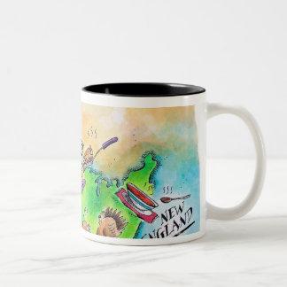 Foods of the USA Two-Tone Coffee Mug