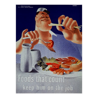 Foods that Count Poster