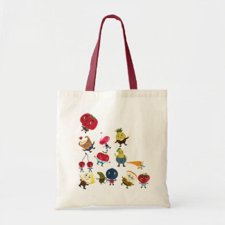 Foody Grocery Tote Budget Tote Bag