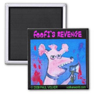 foofi's revenge $3.00 2 inch square magnet