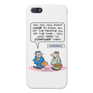 fool all people all time just confuse abraham linc iPhone 5 cases