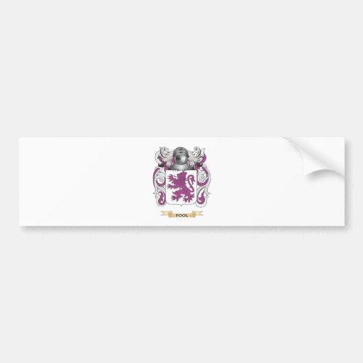 Fool Coat of Arms Bumper Stickers