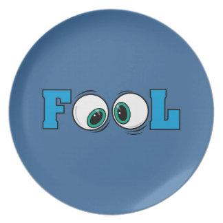 Fool Eyes Gifts Plate