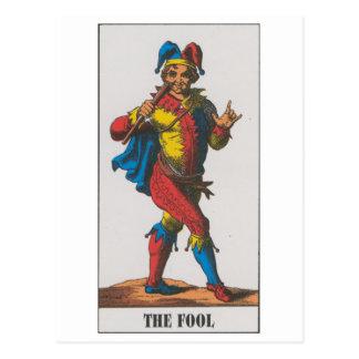 fool postcard