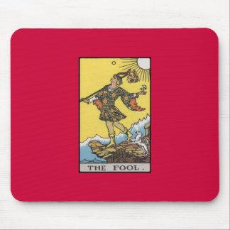 Fool Tarot Card Image Mouse Pad
