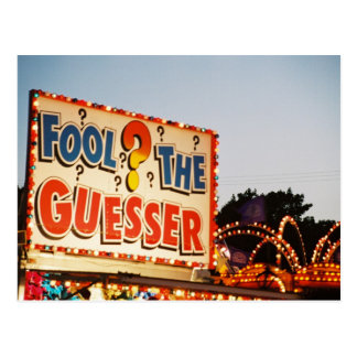 Fool the Guesser Postcards