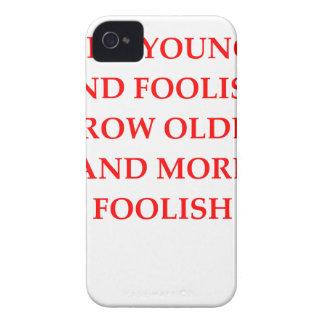 FOOLISH Case-Mate iPhone 4 CASE