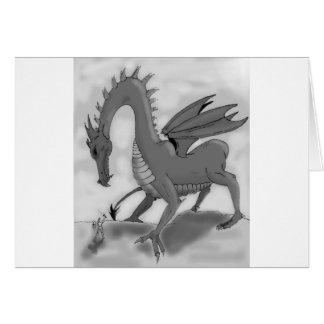 Foolish Knight (Black and white) Card