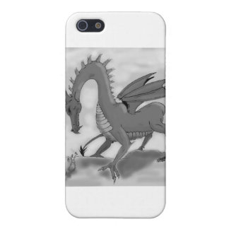 Foolish Knight (Black and white) Cover For iPhone SE/5/5s
