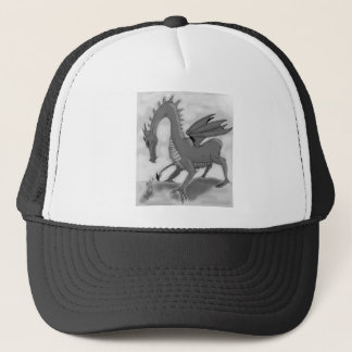 Foolish Knight (Black and white) Trucker Hat