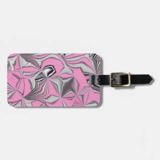 foolish movements, effect pink luggage tag