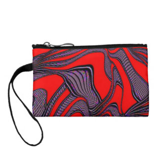 foolish movements, red black coin wallets