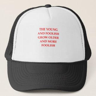 FOOLISH TRUCKER HAT
