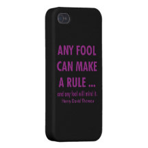Fools and Rules iPhone 4 Cover