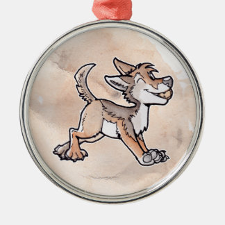 Fool's Gold Coyote Christmas Tree Ornament