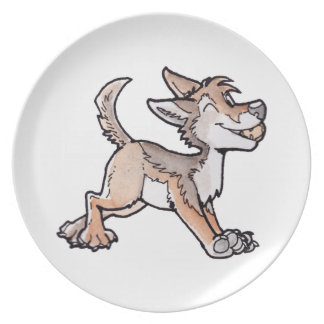 Fool's Gold Coyote Party Plates