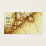 Fools Gold - Fractal Art Business Card