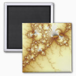 Fools Gold - Fractal Art Magnet