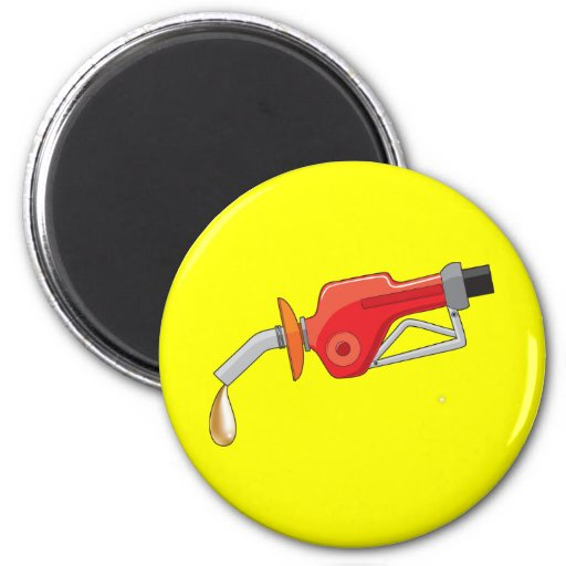Fool'S Gold Gas 2 Inch Round Magnet