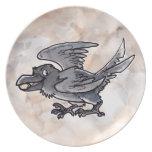 Fool's Gold Raven Dinner Plates