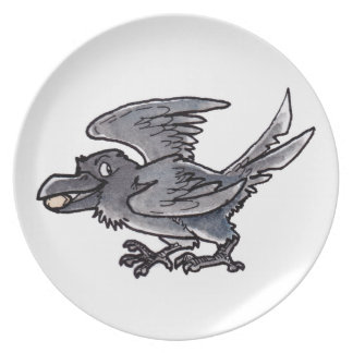 Fool's Gold Raven Plate