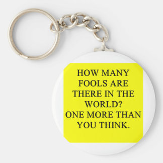 fools keychains