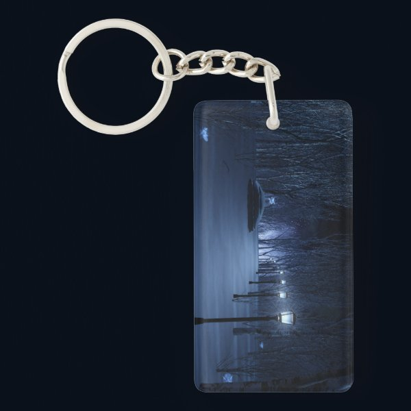 Fool's Light Acrylic Keychain