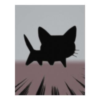 Fooly Cat Personalized Letterhead