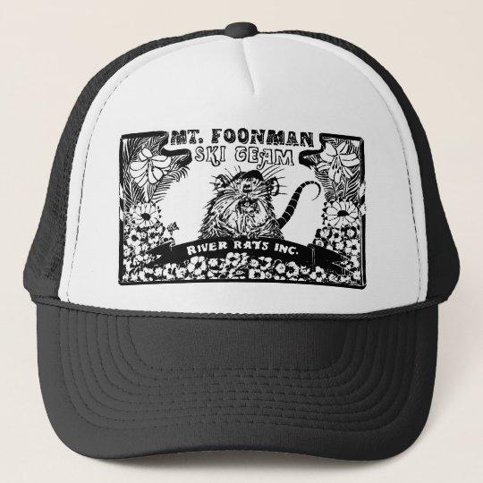Foon Mt. Foonman Ski Team Mule Wash River Rat Trucker Hat