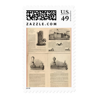 Foos and Jane Stanley Rule and Level Postage Stamp