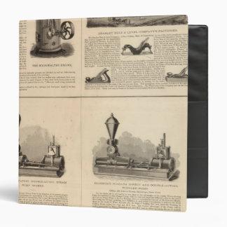 Foos and Jane Stanley Rule and Level Vinyl Binder