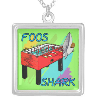 Foos Shark Silver Plated Necklace