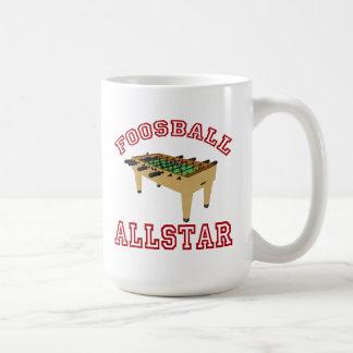 Foosball Allstar Coffee Mug