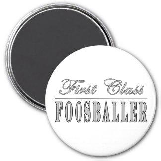Foosball and Foosballers : First Class Foosballer Refrigerator Magnets