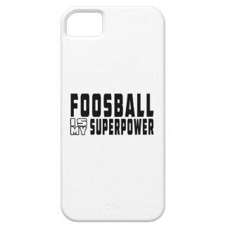 Foosball es mi superpotencia iPhone 5 funda