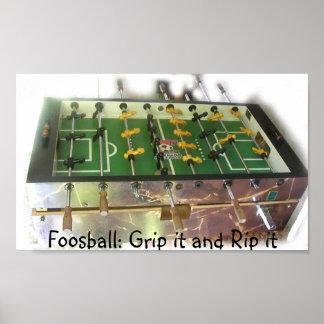 Foosball Grip Print