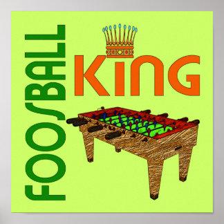 Foosball King Poster