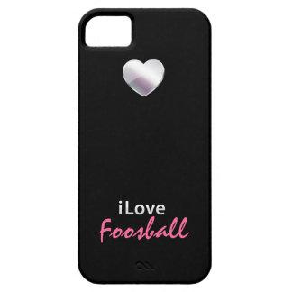 Foosball lindo iPhone 5 Case-Mate cárcasas