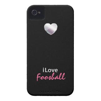 Foosball lindo iPhone 4 Case-Mate carcasas