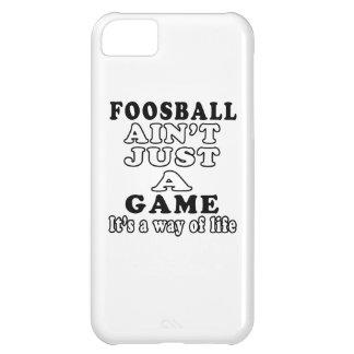 Foosball no es apenas un juego que es una manera d