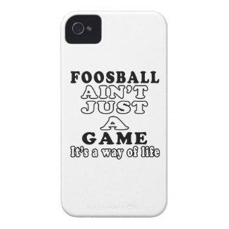Foosball no es apenas un juego que es una manera d iPhone 4 Case-Mate carcasa