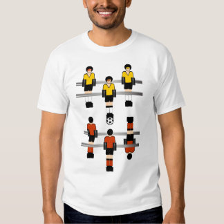Foosball Soccer Competition Tee Shirts