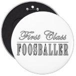 Foosball y Foosballers: Primera clase Foosballer Pin