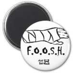 FOOSH = cayó en la mano outstretched Iman De Frigorífico