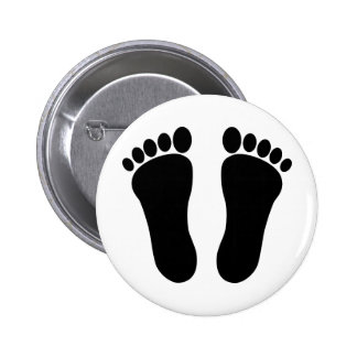 Foot_001_Print_Two_Vector_Clipart Pins