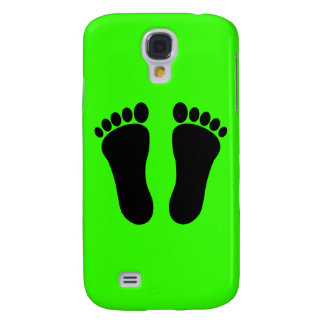 Foot_001__Two_Vector_Clipart Samsung Galaxy S4 Cases
