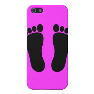 Foot_001__Two_Vector_Clipart Cases For iPhone 5